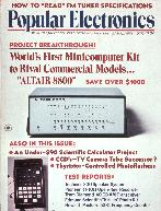 Popular Electronics Altair Cover Story Jan 1975